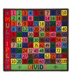 Multiply and Divide Educational Classroom Rug