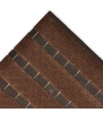 Ribbed Vinyl and Carpet Strip Recessed Mat