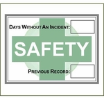 18 x 24 Dry Erase Safety Track Board
