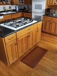 Wood Grain Kitchen Mats