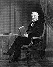 President Millard Fillmore Engraving 1862 Photo Print for Sale