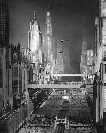 1930 Movie Model of New York City in Future Photo Print
