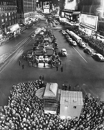 1949 Elections Times Square New York City Photo Print