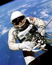 1st American Space Walk Ed White  Photo Print