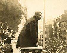 U.S. President Theodore Roosevelt Speech 1906 Photo Print for Sale