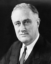 32nd U.S. President Franklin D. Roosevelt Photos