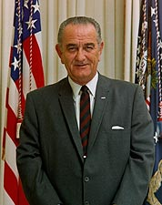 36th U.S. President Lyndon Johnson Photos