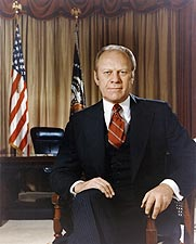 38th U.S. President Gerald Ford Photos