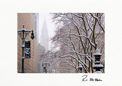 42nd Street Chrysler Building New York Boxed Christmas Cards