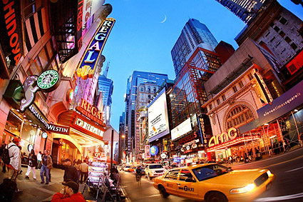 42nd Street Times Square New York City Photo Print