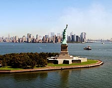 9/11 Ground Zero Statue of Liberty New York Photo Print for Sale