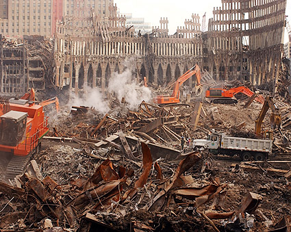 9/11 World Trade Center Site Debris Removal Photo Print