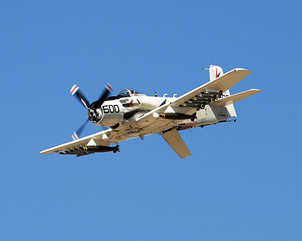 A-1 Skyraider w/ Speed Brake Photo Print