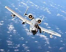A-10 Thunderbolt II Warthog Aircraft  Photo Print