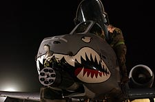 A-10 Thunderbolt Nose Art Photo Print for Sale