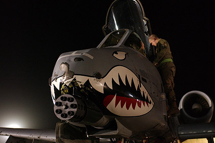 A-10 Thunderbolt Nose Art Photo Print