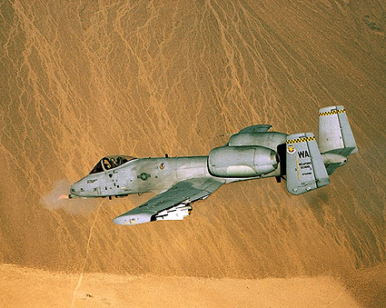 A-10 Thunderbolt Opens Fire Photo Print
