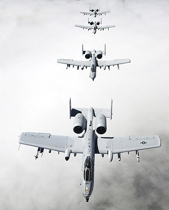 A-10 Thunderbolt Warthog Aircraft Photo Print