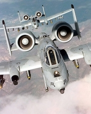 A-10 Thunderbolts in Flight Photo Print