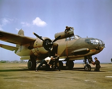 A-20 Bomber Aircraft at Langley Field Photo Print