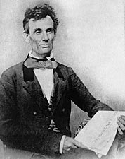 Abraham Lincoln as Illinois Senate Candidate in 1854 Photo Print for Sale