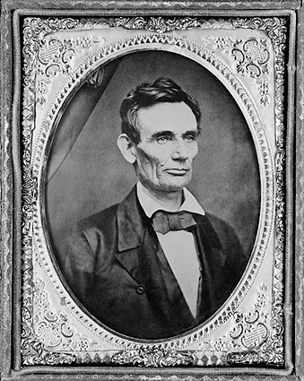 Abraham Lincoln Campaign Image 1860 Photo Print