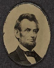 Abraham Lincoln Campaign Photo 1864 Photo Print for Sale