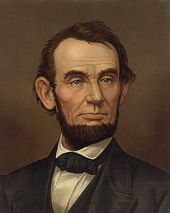 Abraham Lincoln Painting Photo Print
