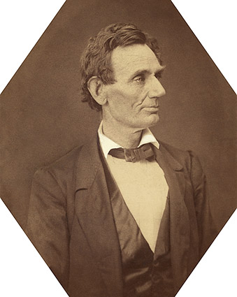 Abraham Lincoln Presidential Candidate Portrait 1860 Photo Print