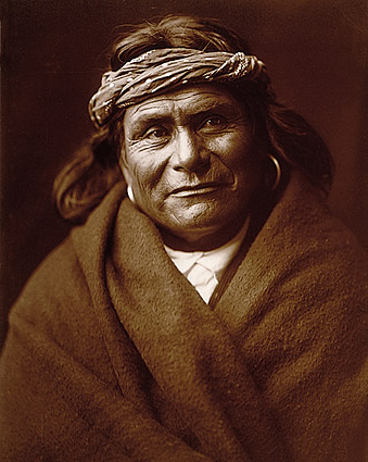 Acoma Indian Edward S. Curtis Portrait 1904 Photo Print
