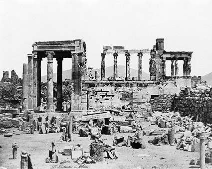 Acropolis Erechtheum Ancient Greek Temple Photo Print