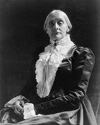 Activist Susan B. Anthony Portrait Photo Print