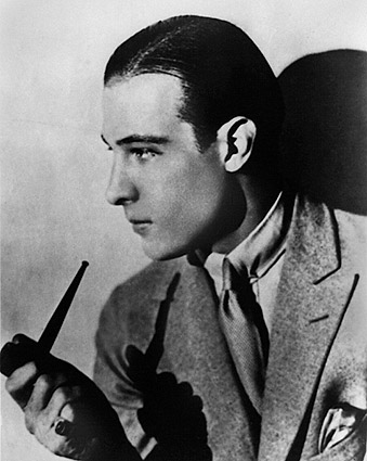Actor Rudolph Valentino Profile Portrait Photo Print