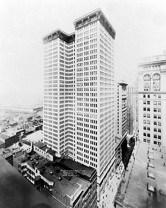 Adams Express Building New York 1914 Photo Print