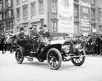 Admiral Coghlan Taft Parade NYC 1908 Photo Print