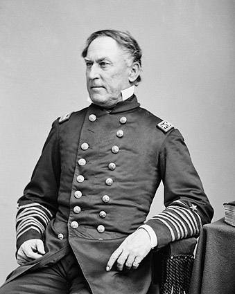 Admiral David Farragut Civil War Portrait Photo Print