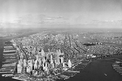 Aerial View Lower Manhattan, New York City Photo Print