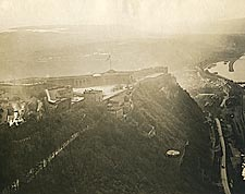 Aerial View of Ehrenbreitstein Fortress in Germany WWI Photo Print for Sale