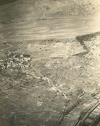 Aerial View of Norroy, France WWI Photo Print