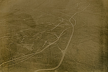 Aerial View of Verdun, France WWI Photo Print