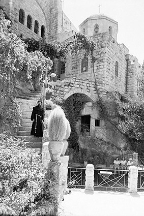 Ain Habis Christian Church in Israel 1940s Photo Print