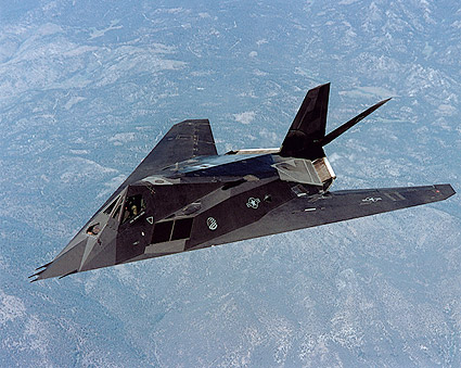 Air Force F-117 'Nighthawk' Stealth Fighter  Photo Print