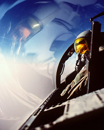 Air Force F-15 Eagle Pilot Photo Print
