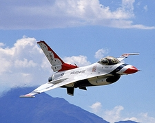 Air Force Thunderbirds F-16 Falcon Photo Print
