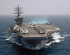 Aircraft Carrier USS Dwight D. Eisenhower (CVN 69) Photo Print for Sale