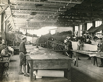 Aircraft Factory WWI 1917 Photo Print