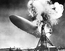 Airship Hindenburg Disaster Photo Print for Sale