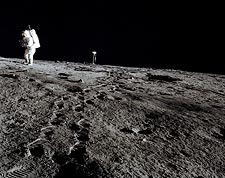 Alan Bean on Lunar Surface Apollo 12 Photo Print for Sale