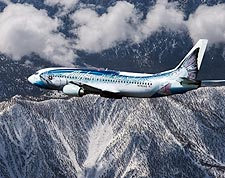Alaska Airlines 'Salmon Thirty Salmon' Boeing 737  Photo Print for Sale