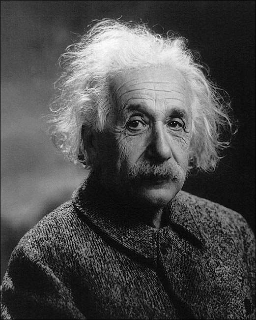 Albert einstein portrait 1947 photo print